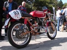 Ducati 175 at the Moto Giro d' Italia - 2006
