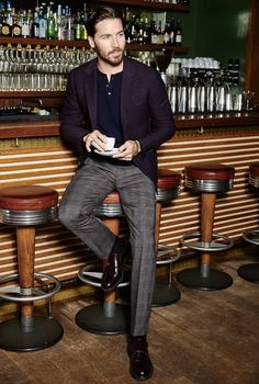 Men's Americano wool pants from #Bonobos. Great Blazer too!