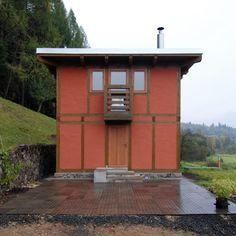 Pleštil: Bořkov - Dům pro tetu/House for the Aunt Aunt, Shed, Sunday, Outdoor Structures, House, Domingo, Home, Homes, Barns