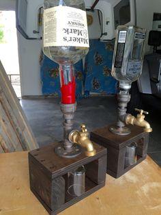 4 faucet liquor dispenser by DaneesPalletShop on Etsy                                                                                                                                                                                 Más