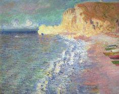 Morning at Étretat 1883 Claude Monet