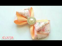 Clara Ribbon Bow | DIY by Elysia Handmade - YouTube