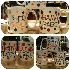 coffee mugs for football fans