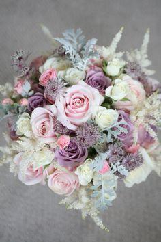 Textured vintage style bouquet