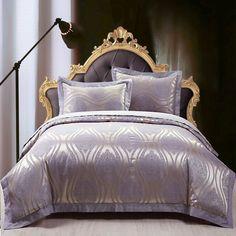 Hot Sale Designer Luxury Bedding Set Cotton Jacquard comfortable Bedding Sets Duvet Cover Home Textile