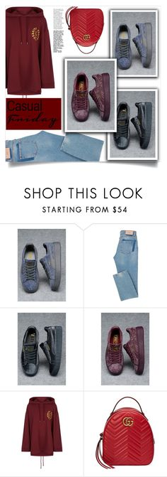 """Puma!!"" by samra-bv ❤ liked on Polyvore featuring Gucci and casual"