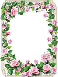 View album on Yandex. Framed Wallpaper, Flower Background Wallpaper, Flower Backgrounds, Paper Background, Page Borders Design, Border Design, Borders For Paper, Borders And Frames, Rose Frame