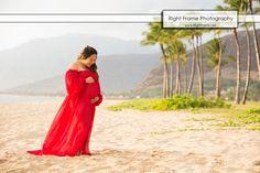 www.RightFrame.net - Sunset Maternity Pictures – Hawaii Oahu, Beach, Photography, Photographer, Photographers, Picture, Photo, Photos, Pregnancy, Idea, Ideas, Hawaiian,