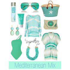 """""""Mediterranean Mix"""" by Coastal Style Blogspot"""