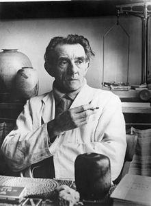 Bauhaus Buchholz studiokeramik kugelvase otto lindig bauhaus signiert deco zart