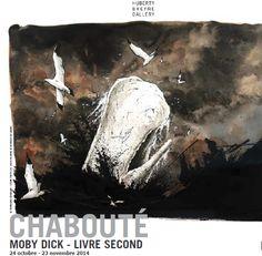 Chabouté expose en avant-première la suite de Moby Dick à Bruxelles - http://www.ligneclaire.info/expo-chaboute-18670.html