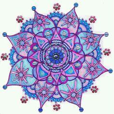 #KlauVázkez #Mandalas #Peace #Nirvana