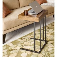 INK+IVY Wynn Beige Pull Up Table - Free Shipping Today - Overstock.com - 19848689 - Mobile