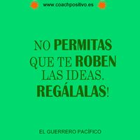 No permitas que te roben las ideas, regálalas. Happy Birthday Pictures, Ideas, Warriors, Happy Birthday Images, Thoughts