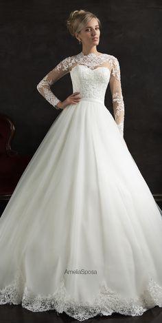 amelia-sposa-2015-wedding-dresses-nubia - Belle The Magazine