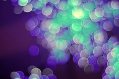 purple and green (bokeh photograph) that I would love to have as finely printed large blank cards for letter writing