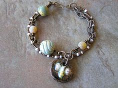 OOAK Bracelet  Spring Bee Bracelet by swallowtailjewellery on Etsy