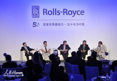 """(23) Rolls Royce improved their bushiness well in China, and 3 years after the big contract, Xiao was invited to a """"Changing World source of power --50 anniversary for China"""" Innovation Forum*, which is hold by Rolls Royce in Beijing. *Source: http://news.carnoc.com/list/259/259587.html"""