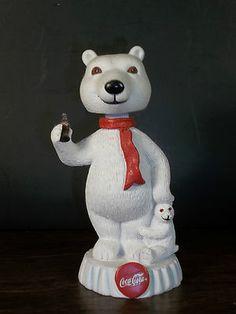 Coca Cola Polar Bear Headbobber
