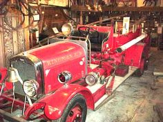 Image detail for -Early fire equipment used in Kingman, Kansas