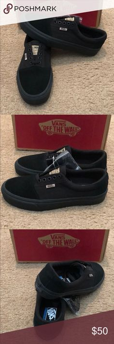 Solos Rowley Vans New in box. Black Vans Shoes Sneakers