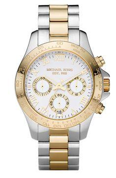 Michael Kors 'Small Layton' Chronograph Watch