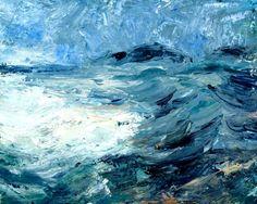 Donald Teskey (b.1956) Island Crossing IV