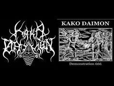 Kako Daimon -  Hymn to the Southern Demons Hordes Black/Death Metal Sweden