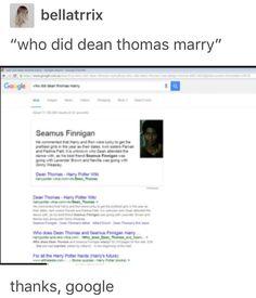 Deamus, Seamus finnigan, Dean Thomas, Harry Potter, hp