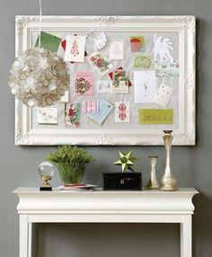 Framed Inspiration Board