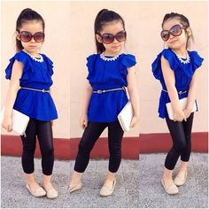 Cute outfit kids fashion baby clothes