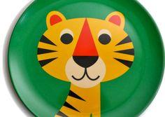 Assiette Ingela Arrhenius - Tigre
