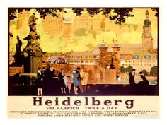 Heidelberg Giclée-Druck bei AllPosters.de