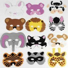 Animal face painting ideas for boys or girls.