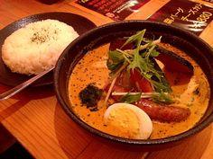 札幌・hirihiriのココナッツスープカレー♡