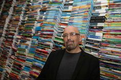 Francisco Gerardo Haghenbeck (1965) fue reconocido con el Premio Nocte 2013, por su novela El diablo me obligó (Suma de Letras, 2011), considerada una las mejores obras de terror por la Asociación de Escritores de Terror de España.  Foto: EFE