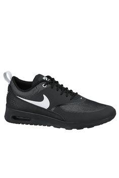 df304a835037 Nike Air Max Thea - Black   White Plimsoll Shoe