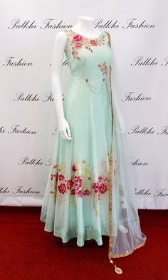Designer Anarkali Outfit / Gown| Buy Online| Palkhi Fashion Houston