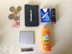 Festival Essentials - What's in my bag❯ For all things beauty, fashion and travel visit smoonstyle.com, a beauty and lifestyle blog by Simone Simons.