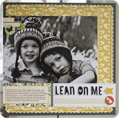 Lean on Me *Cosmo Cricket* by Justlulu @2peasinabucket