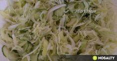 Egész évben friss házi csalamádé recept képpel. Hozzávalók és az elkészítés részletes leírása. Az egész évben friss házi csalamádé elkészítési ideje: 90 perc Hungarian Recipes, A 17, Evo, Cabbage, Vegetarian, Vegan, Vegetables, Cooking, Salads