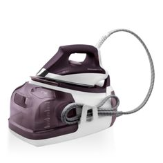 Rowenta Perfect Steam Eco Energy Steam Iron Station Stainless Steel Soleplate, Purple: Home & Kitchen Steam Iron Reviews, Best Steam Iron, Best Iron, Best Garment Steamer, Steam Generator Iron, Iron Steamer, Fabric Steamer, Iron Board, Steam Cleaning