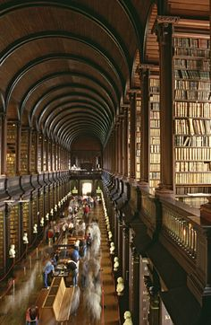 Get a glimpse of medieval Ireland at the The Book of Kells Exhibition. The Book of Kells dates back to 561 A.D.!