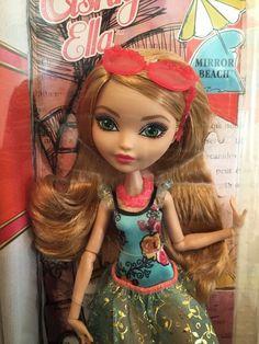Ever After High Ashlynn Ella Mirror Beach Doll New in Box!! CLC64 Ships Fast!!  #Mattel