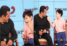 #SalmanKhan Becomes A Child With Matin & Here Are Their Funniest Moments. Click To Watch! #Tubelight #Salman #ManChild #Funny #Humor #Relationships #Movies #Bollywood