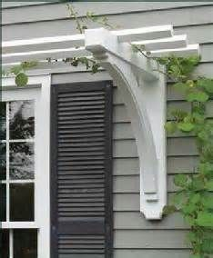 arbor above garage door idea - Google Search