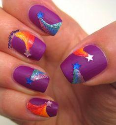Acrylic Nails Art For Teens 2014