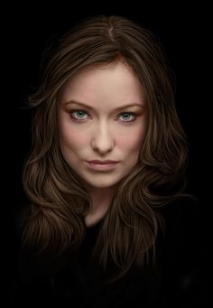 Olivia Wilde by ~vannenov on deviantART, possible self portrait Olivia Wilde, Olivia Munn, Celebrity Drawings, Celebrity Portraits, Beautiful Celebrities, Beautiful Actresses, Die Wilde 13, Amazing Photography, Portrait Photography