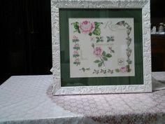 Shabby chic :rosa, rosae, rosam,rosas