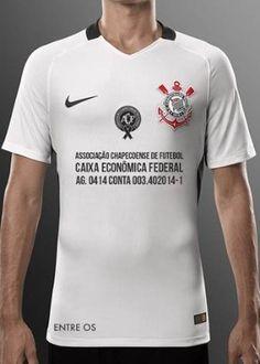 8f80956562fd8 Camisa do Corinthians terá conta bancária da Chape no lugar do patrocinador